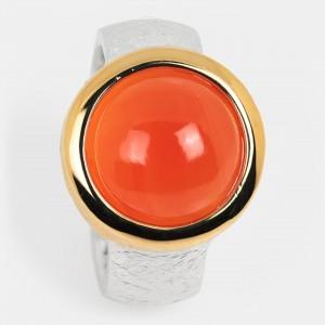 Karneol Ring vergoldet...