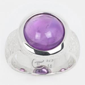 Amethyst Ring Silber 12mm...