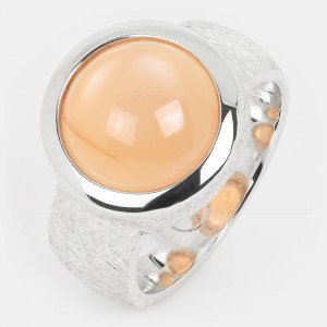Mondstein Ring orange...