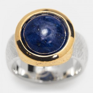 Lapis Lazuli Ring vergoldet...