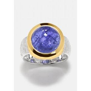 Tansanit Ring Silber...